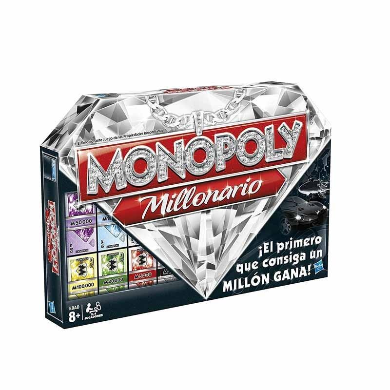 45500 Hasbro. Monopoly versión Millonario