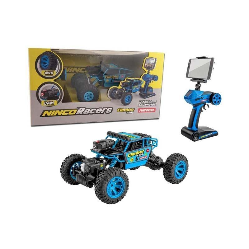 NH93110 Ninco. Coche radio control Crawler 4WD con cámara Wifi incorporada