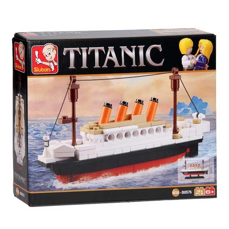 0576 Sluban. Juego de Construcción Barco Titanic