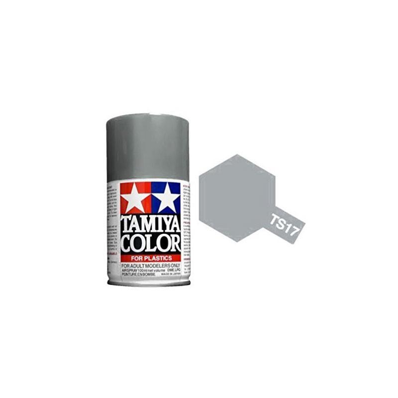 85017 Tamiya. Spray TS-17 Aluminio Brillante Pintura Esmalte