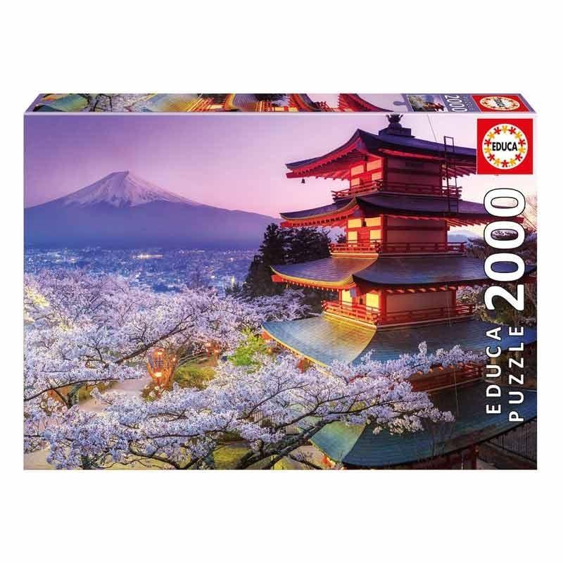 16775 Educa. Puzzle 2000 Piezas Monte Fuji de Japón