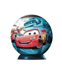 113392.Puzzle Ball 96 piezas Ravensburger, Cars: Flota de Bolido