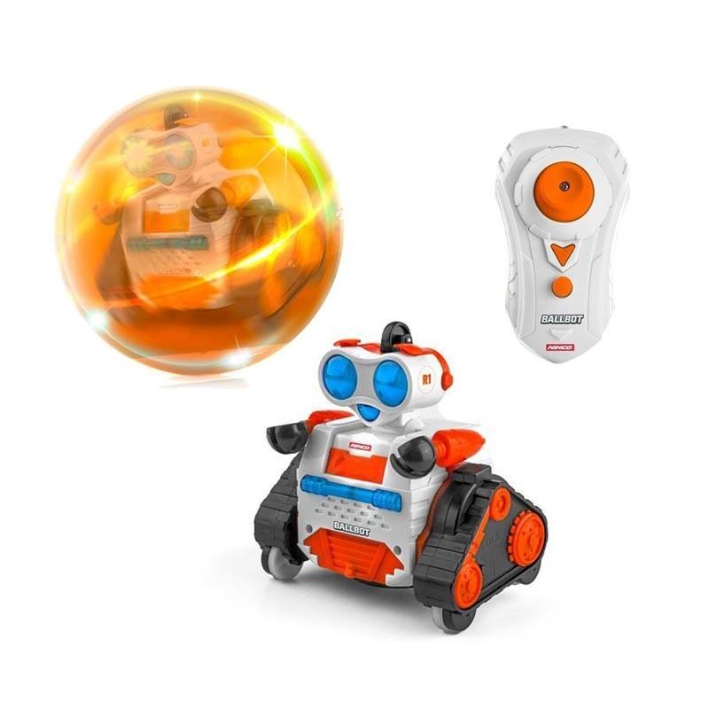 NT10041 Ninco. Robot radio control Ninco Ballbot 1 Naranja