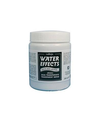 26201 Vallejo. Gel Agua Artificial Transparente 200ml Water Effects