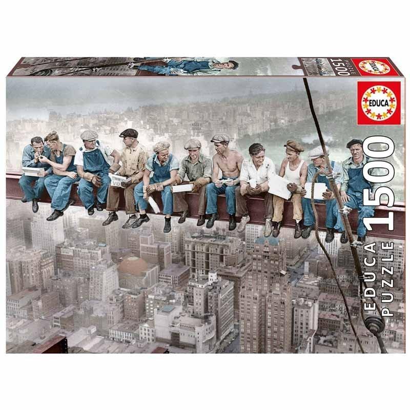 16009 Educa. Puzzle 1500 Piezas Almuerzo en Nueva York