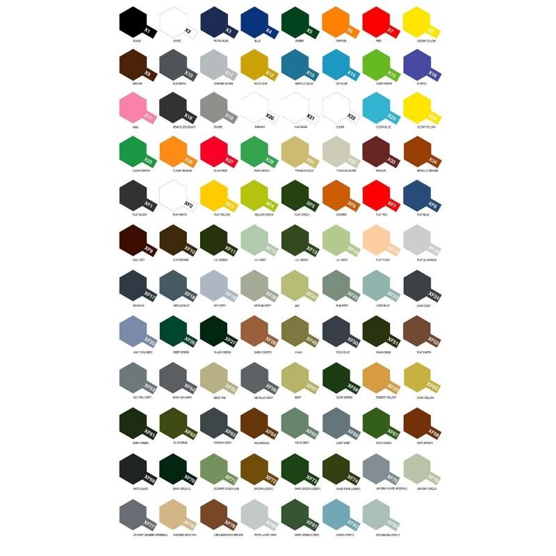 Pack Colores Tamiya  Gama X - XF