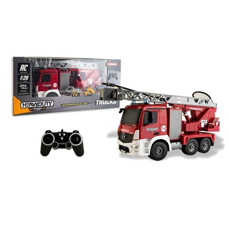 NT10030 Ninco. Camión de bomberos Radio Control con 6 funciones