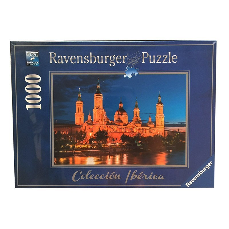88585 Ravensburger. Puzzle 1000 Piezas Basílica del Pilar de Zaragoza