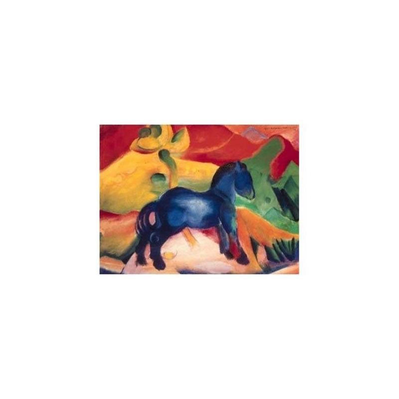 163281. Puzzle Ravensburger 1500 pzas Marc The Little Blue Horse