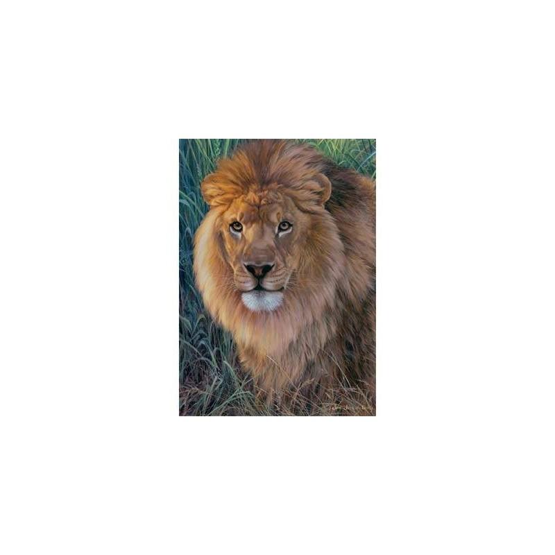 162567. Puzzle Ravensburger 1500 piezas Rey de los Animales