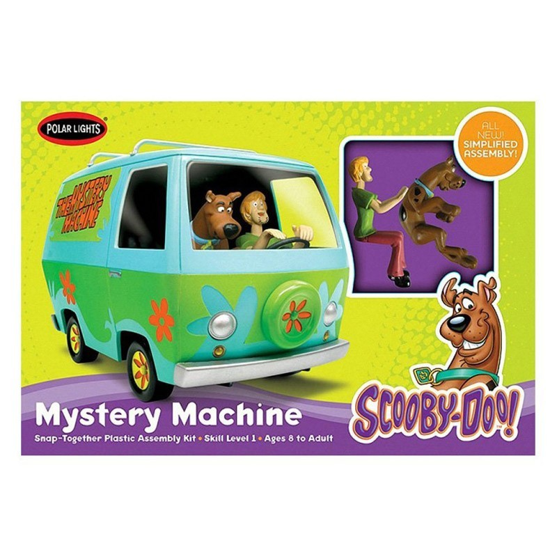 470901 Chaves. Maqueta Furgoneta Scooby Doo Escala 1/25