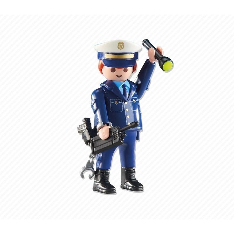 6502 Playmobil. Jefe de Policía de Playmobil