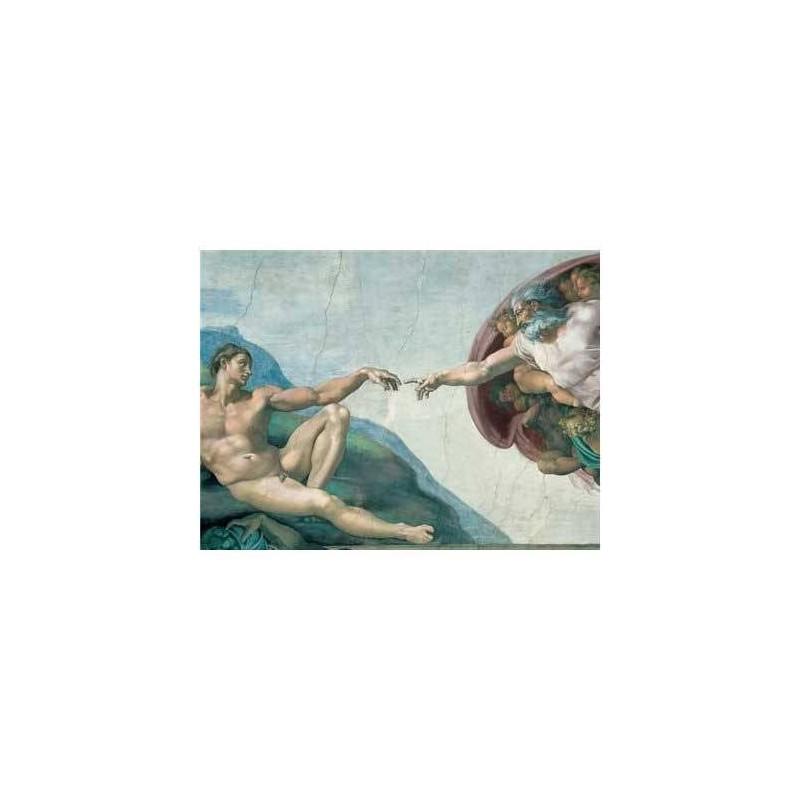 155408. Puzzle Ravensburger 1000 piezas La Creacion De Adan