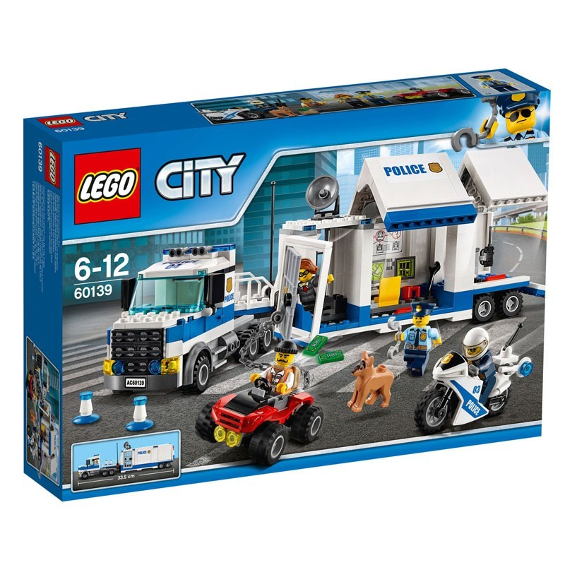 60139 Lego. Centro de Control Móvil de la Policía Lego City