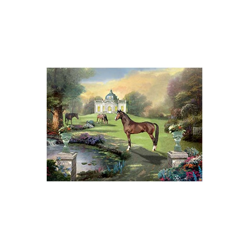 153947. Puzzle Ravensburger 1000 piezas Parque idilico