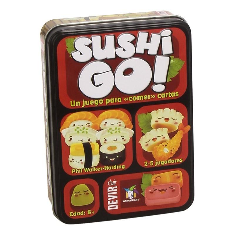 BGSUSHI Devir. Juego de Cartas Sushi Go!