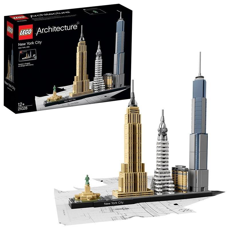 21028 Lego. Ciudad de Nueva York Lego Architecture