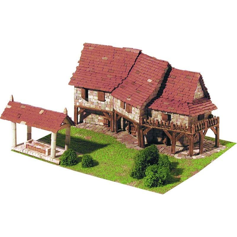 1412 Aedes. Maqueta de Construcción Casas Rurales
