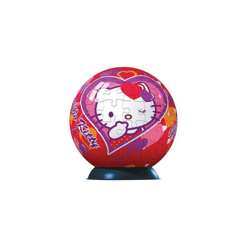 113361. Puzzle Ball 96 piezas Ravensburger, Hello Kitty