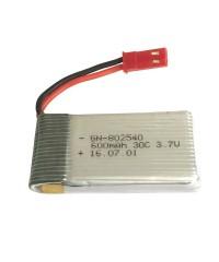 Batería Li-po 3,7v 600Mah 30C Toma BEC