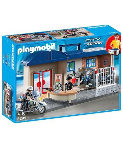 5299 Playmobil. Maletín Jefatura de Policía de Playmobil