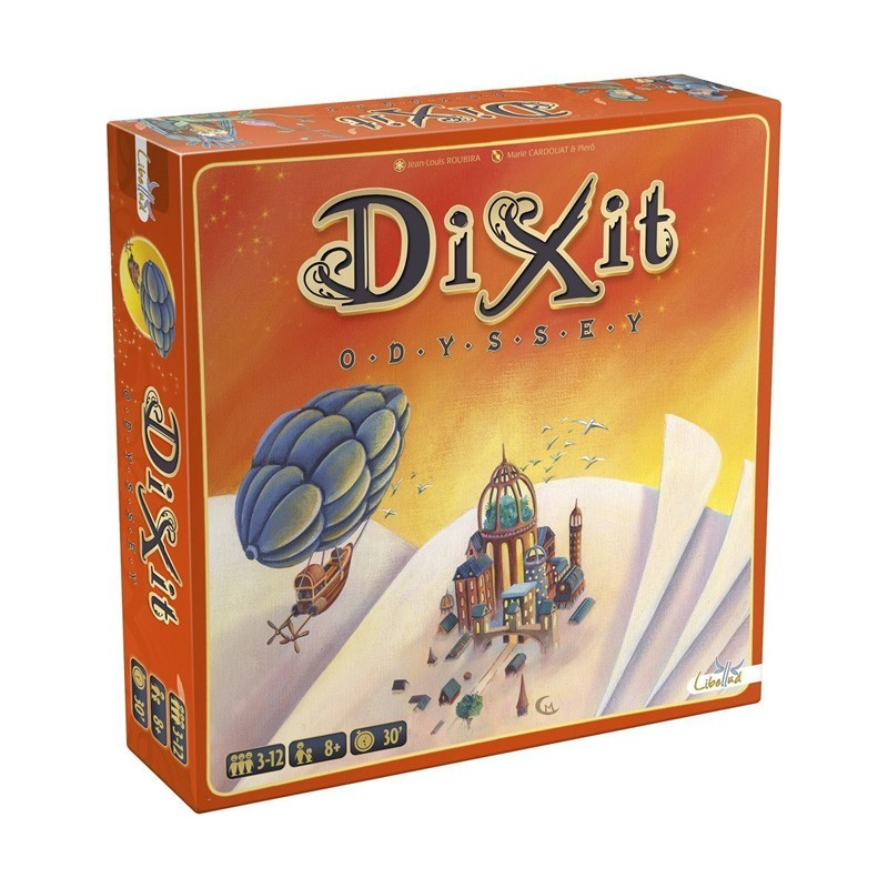 DIX03 Asmodee. Juego de Mesa Dixit Odyssey