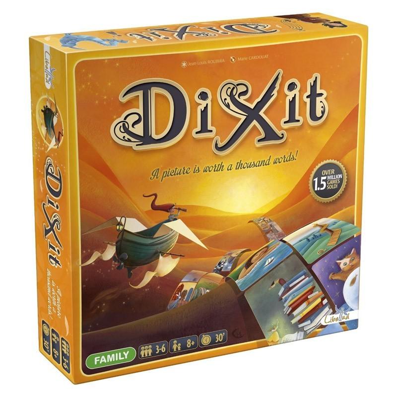 DIX01 Asmodee. Juego de Mesa Dixit Classic