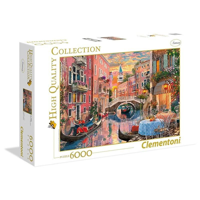 36524 Clementoni. Puzzle 6000 Piezas Atardecer en Venecia