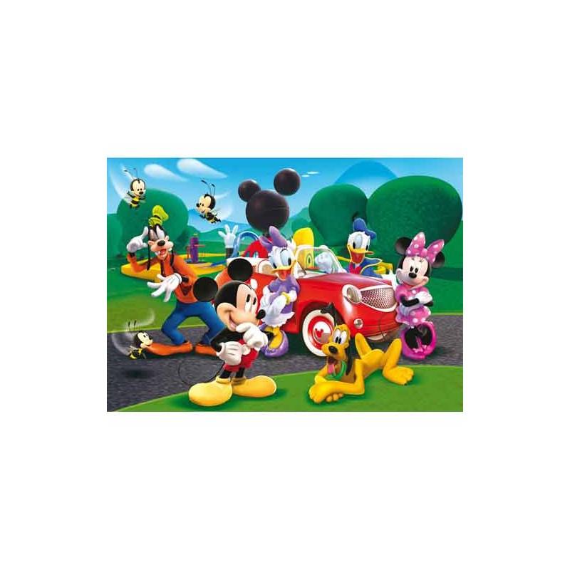 29489.Puzzle Clementoni 250pzs,Mickey Conduciendo Coche Nuevo
