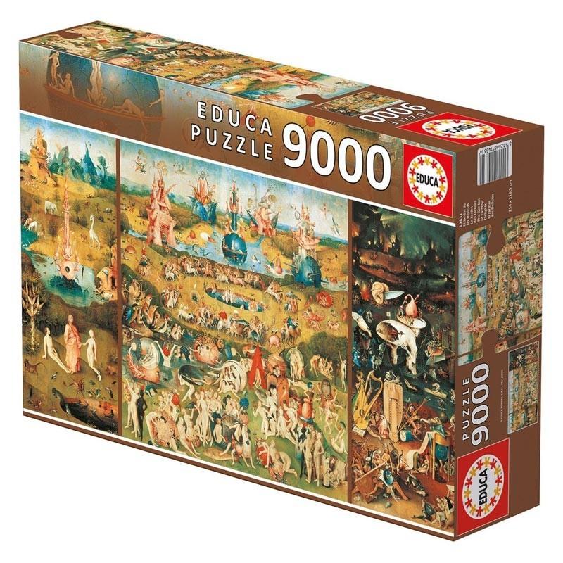 14831 Educa. Puzzle 9000 Piezas El Jardín de las Delicias de Bosch