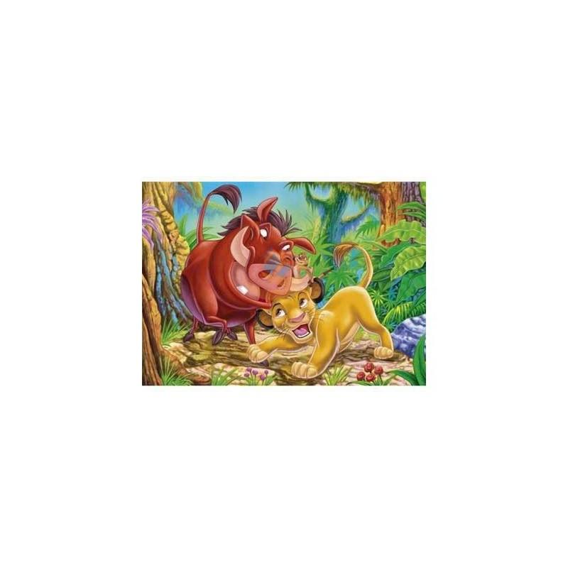 "25408. Puzzle 40 piezas Clementoni ""suelo"", Animal Friends"