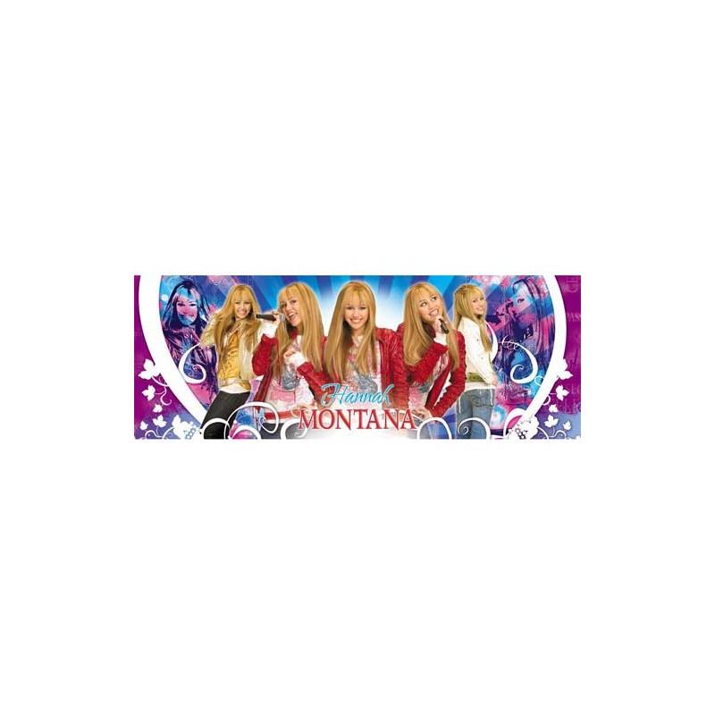"""28095. Puzzle Clementoni 160 piezas, Hannah Montana """"Panorama"""""""