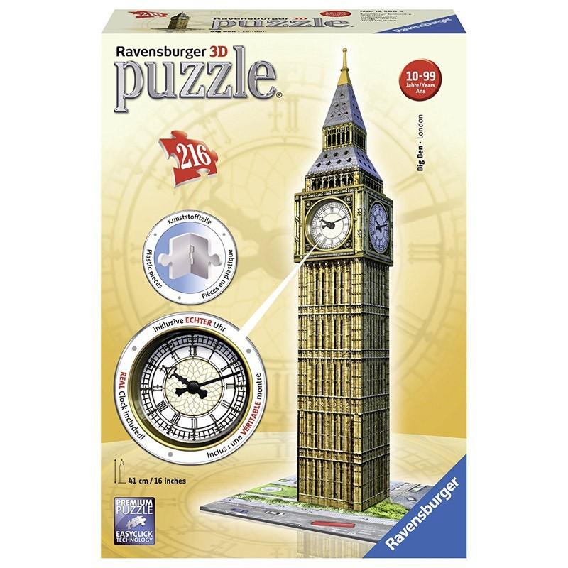 12586 Ravensburger. Puzzle 3D Big Ben