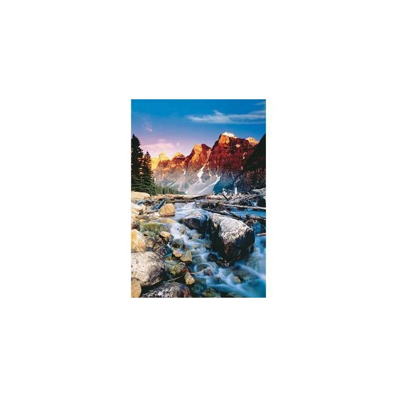 "10096. Puzzle Trefl 1000 piezas Mountain Creek ""Arroyo montaña"""