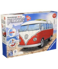 12516 Ravensburger. Puzzle 3D Volkswagen T1 162 Piezas