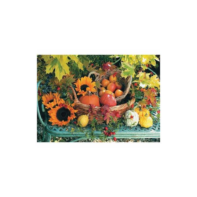 """10156. Puzzle Trefl 1000 piezas Calabazas """"Pumpkins"""""""