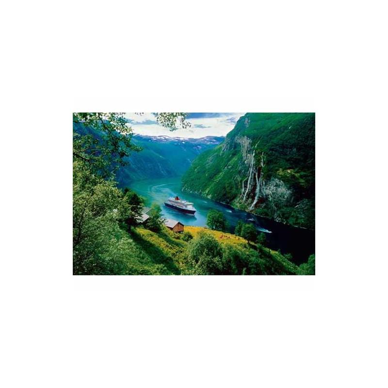 10145.Puzzle Trefl 1000pzs Cascada de las Siete Hermanas,Noruega