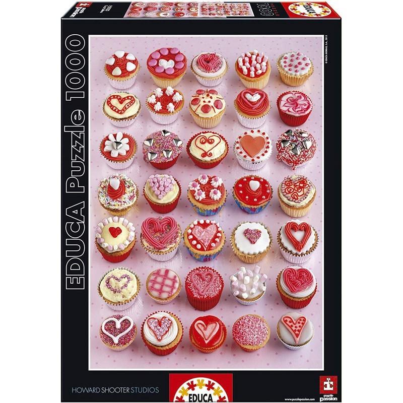 Educa 15550. Puzzle 1000 Piezas Cupcakes