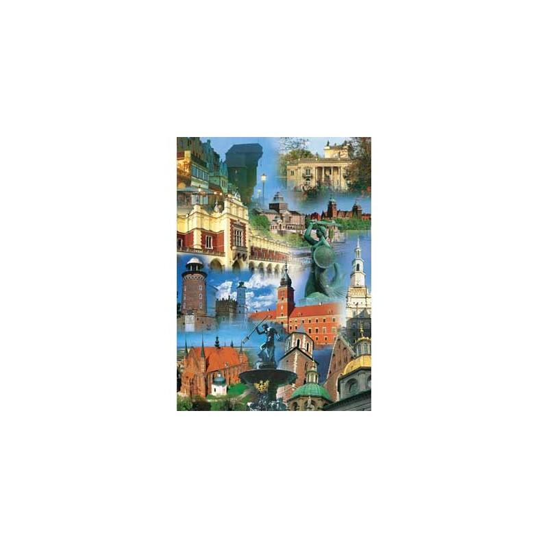 10148. Puzzle Trefl 1000 piezas Ciudades de Polonia