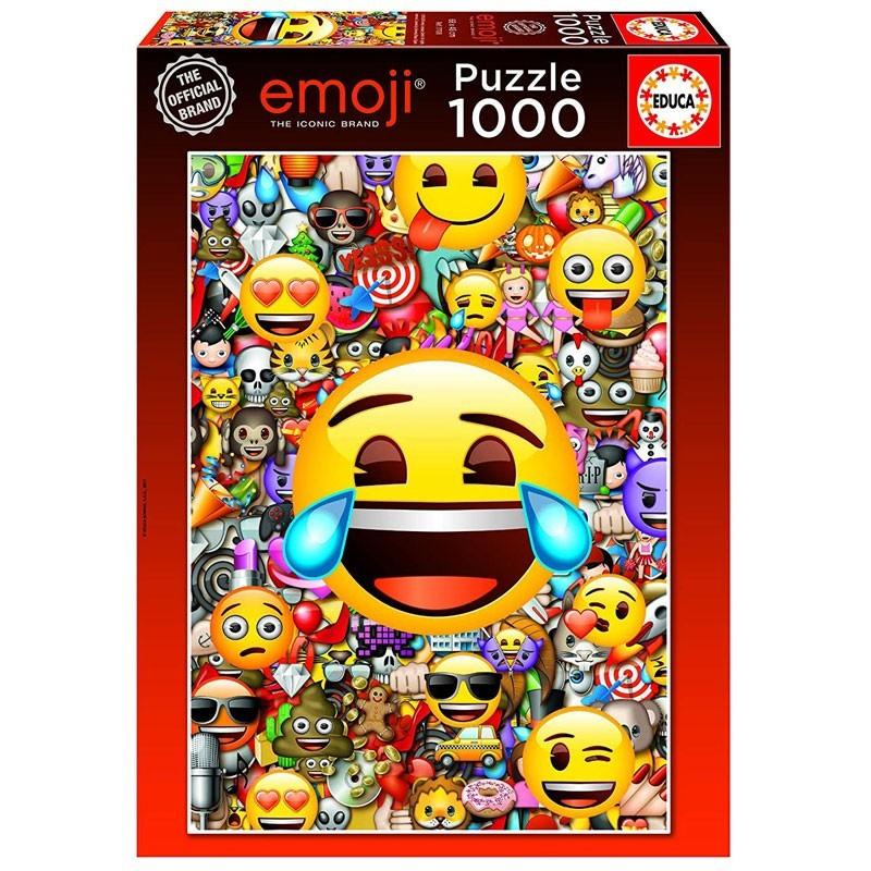 Educa 17108. Puzzle 1000 Piezas Emoticonos Emoji