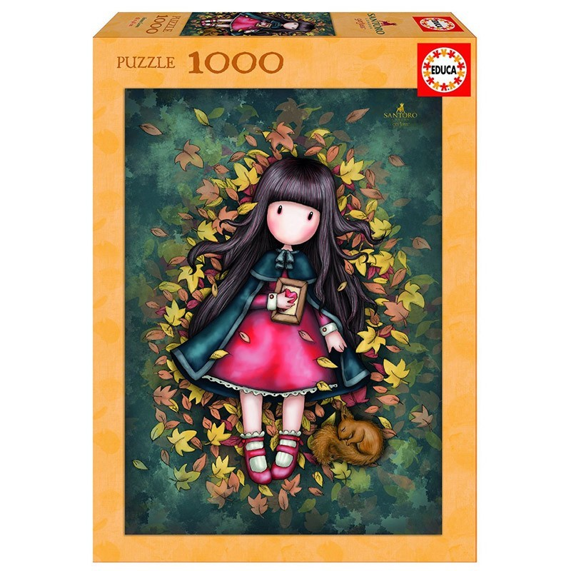Educa 17114 Puzzle 1000 Piezas Autumn Leaves Gorjuss Santoro