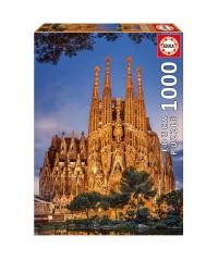 Educa 17097. Puzzle 1000 Piezas Sagrada Familia Barcelona