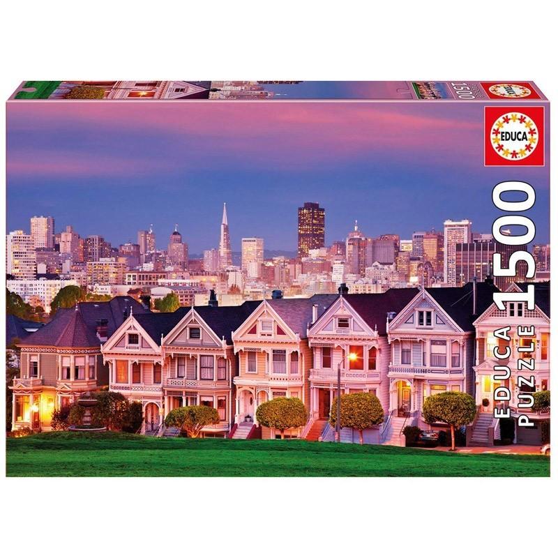 Educa 17119. Puzzle 1500 Piezas Las Damas Pintadas San Francisco