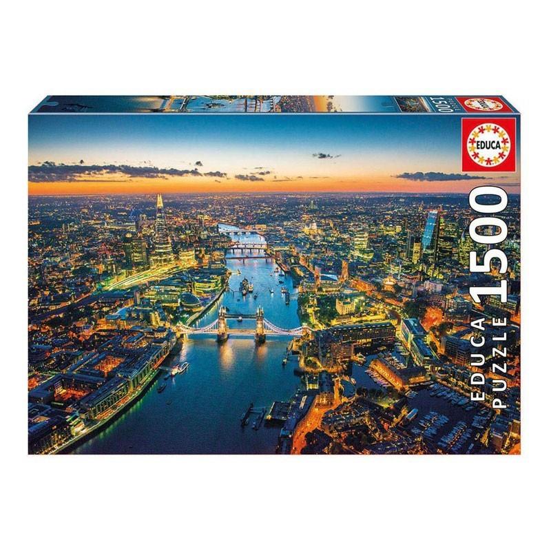 Educa 16765. Puzzle 1500 Piezas Londres desde el aire