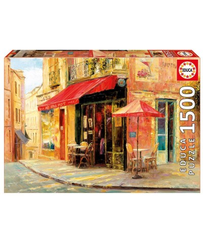 Educa 17123. Puzzle 1500 Piezas Hillside Café Haixia Liu