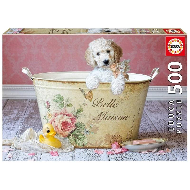 Educa 16736. Puzzle 500 Piezas Belle Maison Lisa Jane