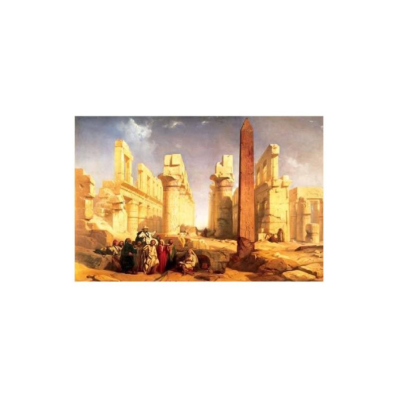 10141. Puzzle Trefl 1000pzs The Temple of Karnak at Luxor,Egipto