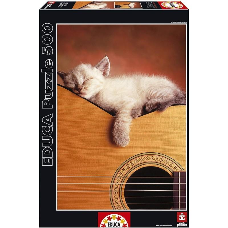 Educa 15510. Puzzle 500 Piezas Mi Guitarra