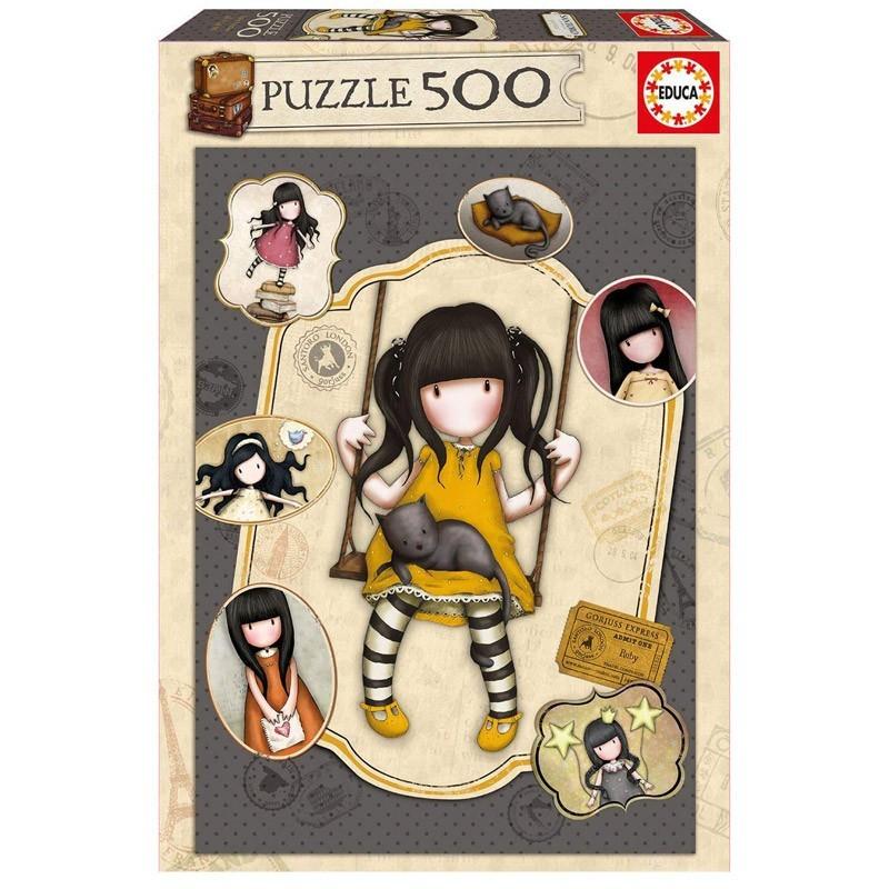 Educa 17653. Puzzle 500 Piezas Ruby Gorjuss Santoro