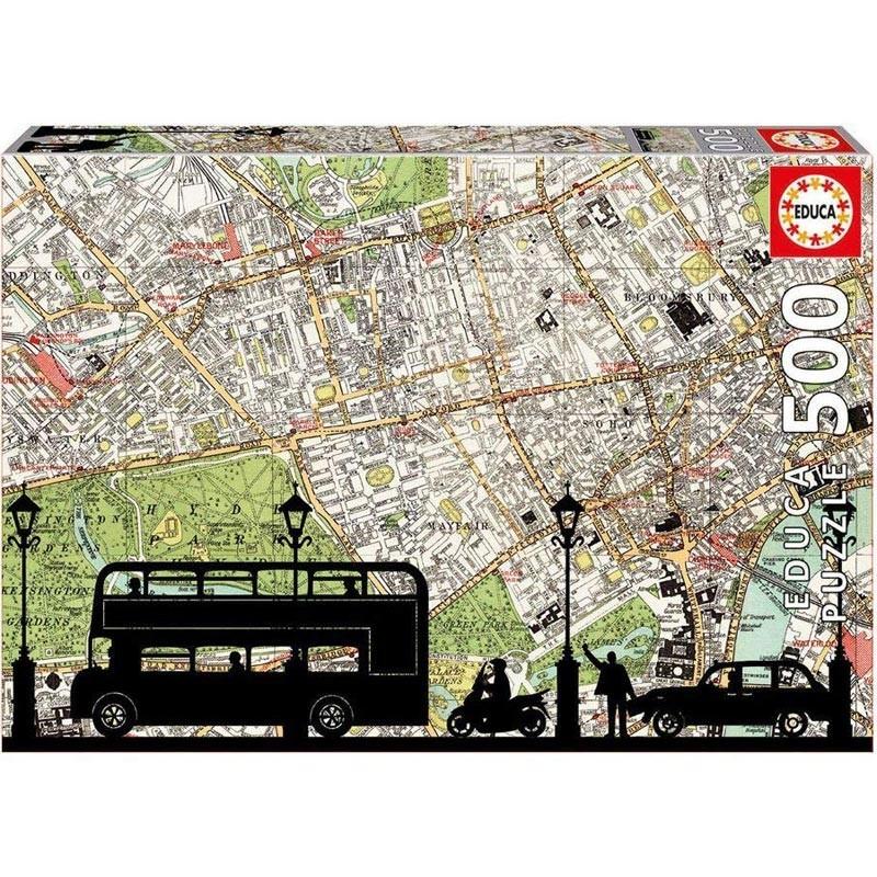 Educa 16731. Puzzle 500 Piezas Hora Punta